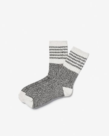 Athletic Striped Boot Socks | Express