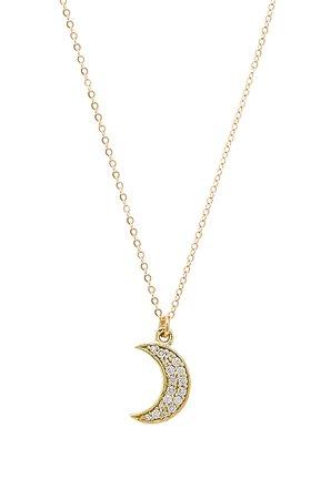 Moon Demi Necklace