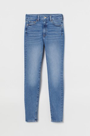 Embrace High Ankle Jeans - Blue