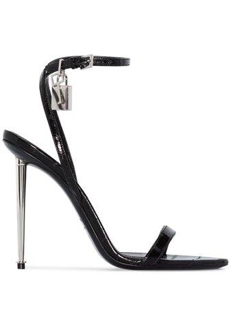 Tom Ford Padlock 105Mm Sandals Ss20 | Farfetch.com