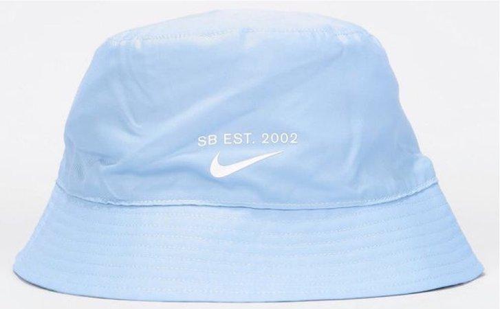 Nike blue bucket hat