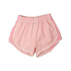 gingham pink shorts png polyvore