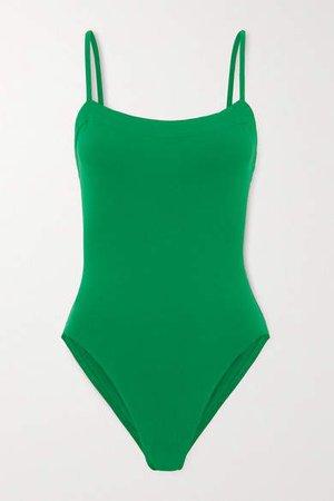 Les Essentiels Aquarelle Swimsuit - Army green