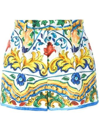 Dolce & Gabbana Prince Of Wales Check Shorts