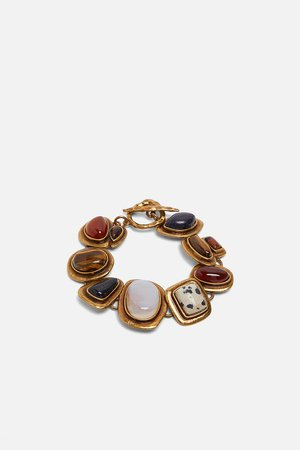 LIMITED EDITION CONTRASTING BEAD BRACELET - Jewelry-ACCESSORIES-WOMAN | ZARA United States
