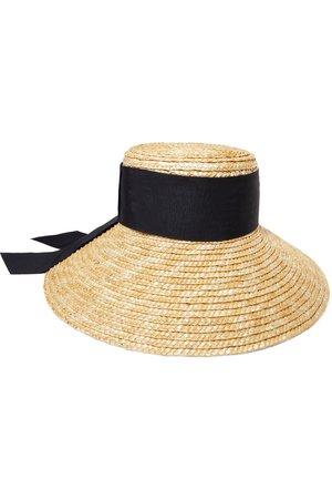 Eugenia Kim   Annabelle grosgrain-trimmed straw hat   NET-A-PORTER.COM
