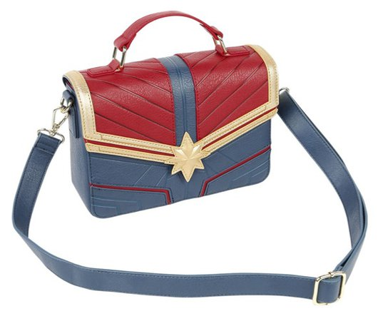 captain marvel bag loungefly