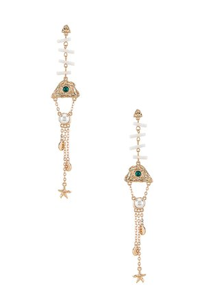 8 Other Reasons Statement Earring in Gold | REVOLVE