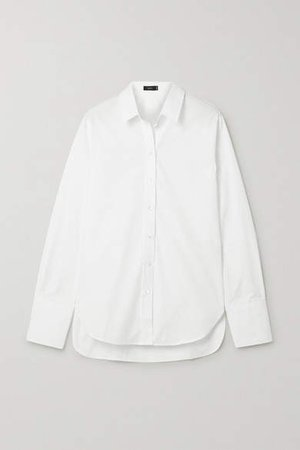 Joe Cotton-poplin Shirt - White