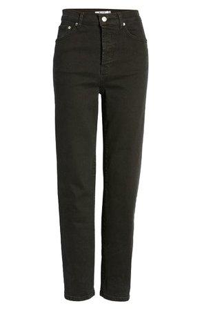 NA-KD High Waist Straight Leg Jeans | Nordstrom