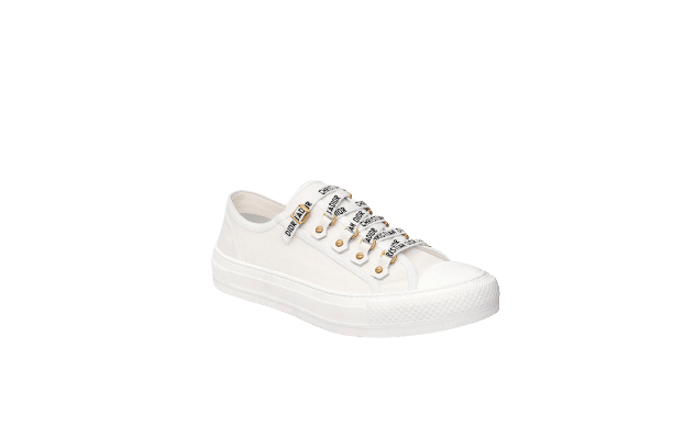 WALK'N'DIOR SNEAKER White Canvas