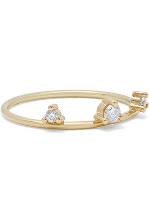 Mizuki   14-karat gold diamond ring   NET-A-PORTER.COM