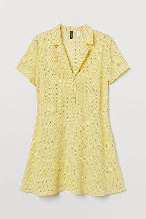 H&M+ Shirt Dress - Yellow