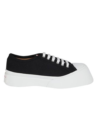 Black Cotton Pablo Sneakers