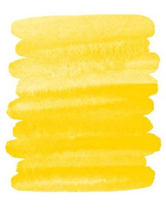 Yellow Watercolour Swatches