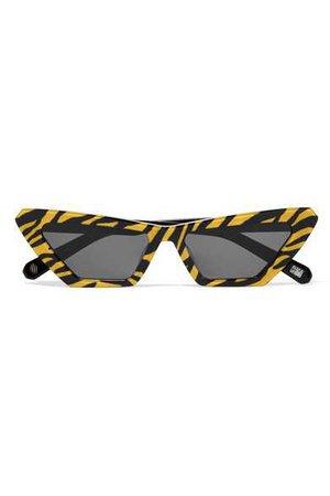 CHIMI   Tiger printed cat-eye acetate sunglasses   NET-A-PORTER.COM