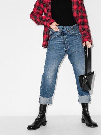 R13 Crossover Jeans - Farfetch