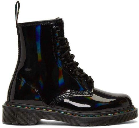 Black Rainbow 1460 Boots