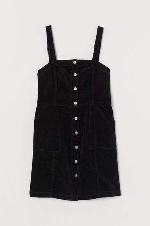 H&M+ Bib Overall Dress - Black