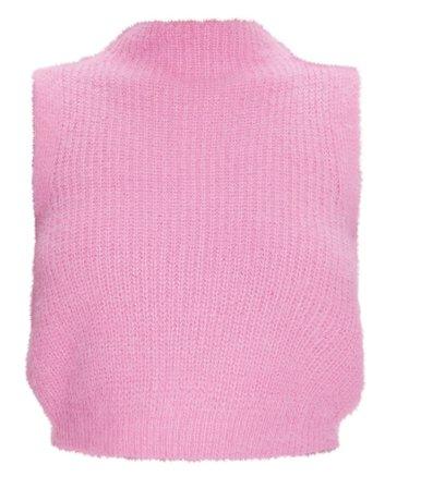 Pink Crop Jumper