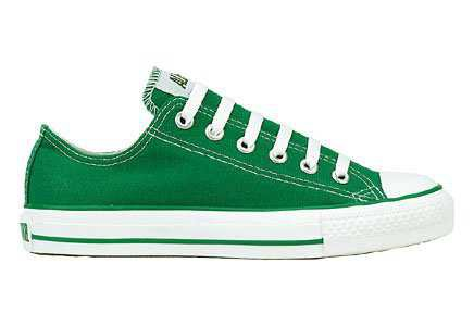 Converse Chuck Taylor All Star Shoes (1J792) Low Top in Kelly Green, Size: 12 UK: Amazon.co.uk: Shoes & Bags