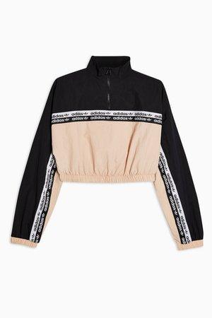 Tape Crop Sweatshirt by adidas   Topshop
