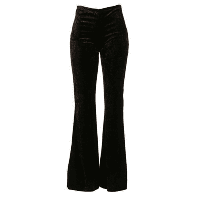 Foxy Velvet Bell Bottom Pants (Black) · mod maya · Online Store Powered by Storenvy