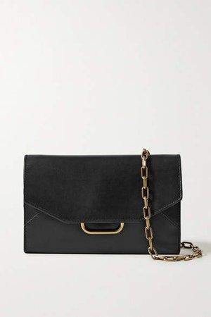 Kyloe Leather Shoulder Bag - Black