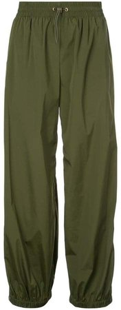 side buttoned trousers