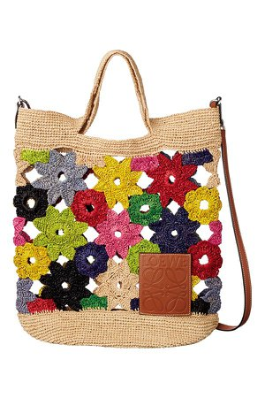 Loewe - knit tote bag