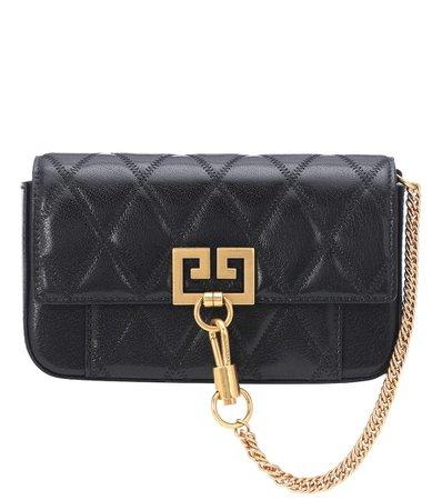 Mini Pocket Leather Shoulder Bag | Givenchy - mytheresa.com