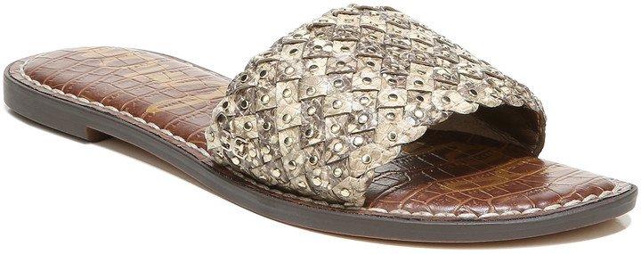 Geraldine Embellished Slide Sandal