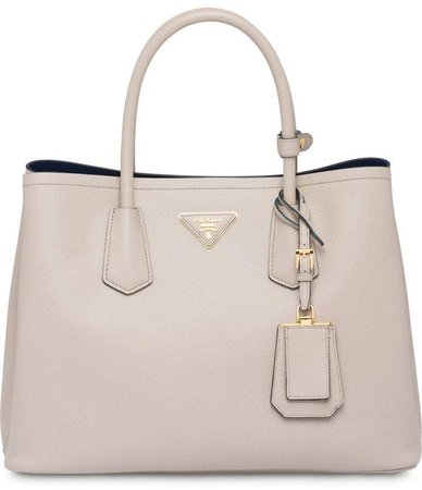 saffiano double bag