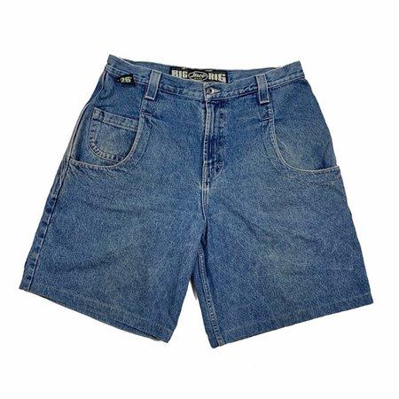 jnco Shorts | Jnco Blue Denim Jean Shorts Skater Baggy Style | Poshmark