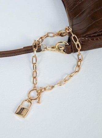 Lock Me Down Necklace – Princess Polly USA