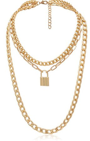 Gold Chain necklace - Haze accessories