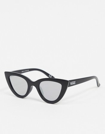 Vans Retro Cat sunglasses in black | ASOS