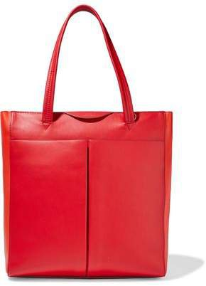 Nevis Two-tone Leather Tote