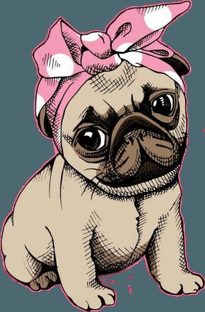 dog - Sticker by Dilara