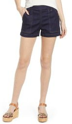 Side Button Shorts
