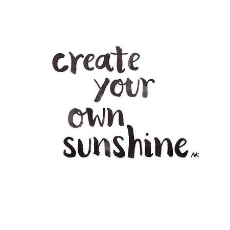 Create Your Own Sunshine Text