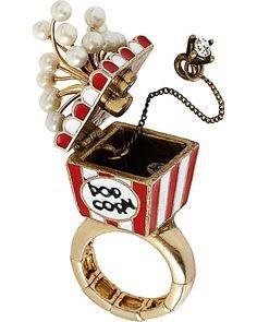 popcorn ring betsey johnson