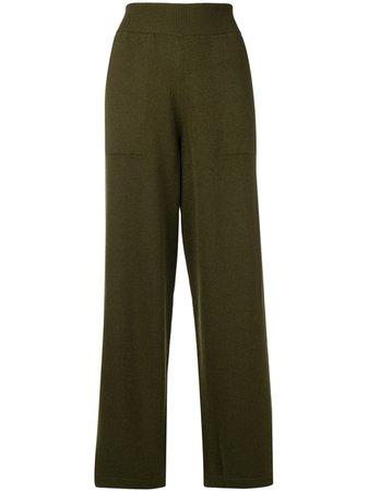 Barrie knitted wide-leg trousers - FARFETCH