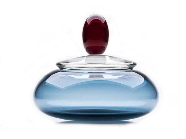 Murano glass decorative object / vase KOUNTESS Royal Family Collection By Purho design Karim Rashid