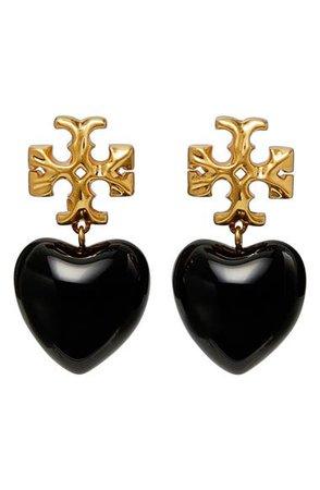 Tory Burch Roxanne Heart Drop Earrings | Nordstrom