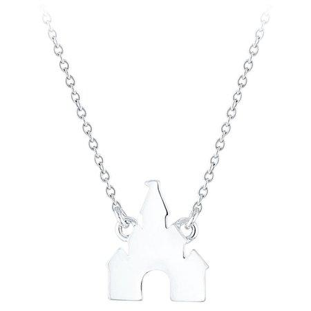 Disney Princess Castle Necklace | shopDisney