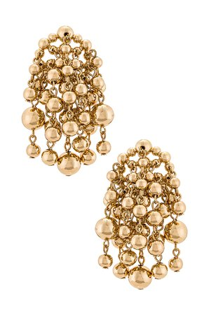 DANNIJO Wilshire Earrings in Gold   REVOLVE