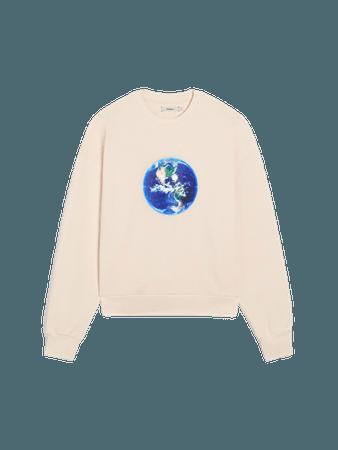 Organic cotton Mother Earth sweatshirt