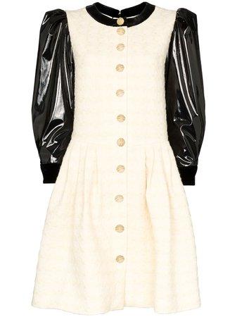 Gucci Vinyl Sleeve Mini Dress - Farfetch