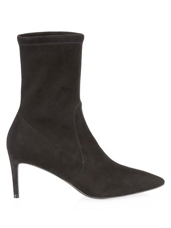 Stuart Weitzman Wren Suede Sock Boots | SaksFifthAvenue